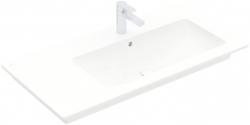 VILLEROY & BOCH - Venticello Umyvadlo nábytkové 1000x500 mm, s přepadem, otvor pro baterii, CeramicPlus, alpská bílá (4134R1R1)
