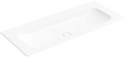 VILLEROY & BOCH - Finion Umyvadlo nábytkové 1200x500 mm, bez přepadu, bez otvoru pro baterii, CeramicPlus, alpská bílá (4164C3R1)