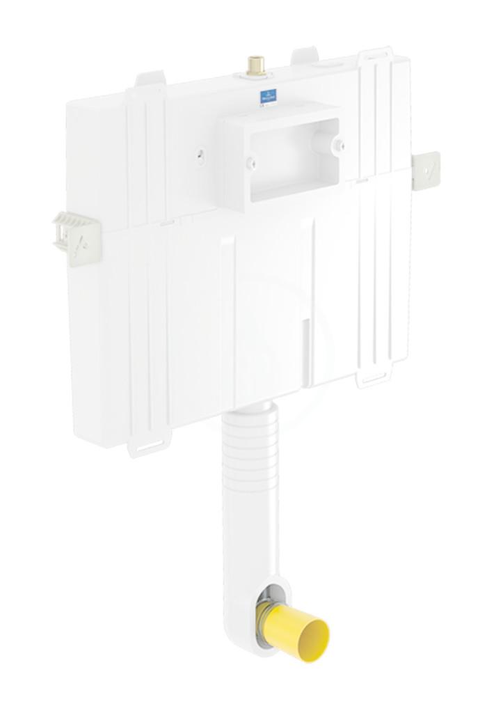 VILLEROY & BOCH ViConnect Splachovací nádržka pod omítku pro WC Compact, 82 cm, pro zděné stěny 92248200