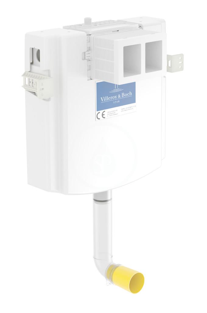 VILLEROY & BOCH ViConnect Splachovací nádržka pod omítku pro WC Compact, 73 cm, pro zděné stěny 92248300