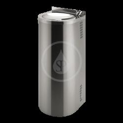SANELA - Nerezové pitné fontánky Nerezová pitná fontána s chladící jednotkou a tlačnou pitnou armaturou (SLUN 43C)