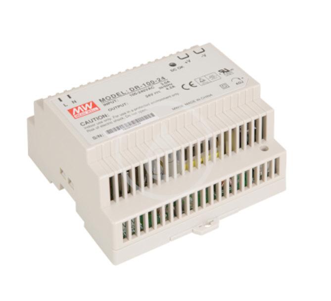 SANELA Napájecí zdroje Napájecí zdroj na lištu, 85-240V AC/24V DC, 100W SLZ 04X