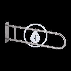 SANELA - Nerezové doplňky Nerezové madlo pevné, délka 830 mm, matný povrch (SLZM 03DX)