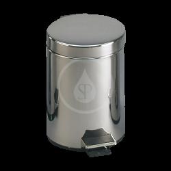 SANELA - Nerezové odpadkové koše Nerezový koš 12 l, povrch matný (SLZN 15X)