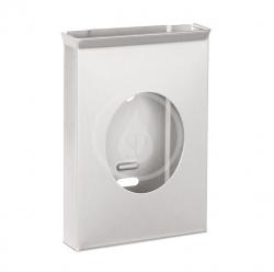 SANELA - Nerezové doplňky Zásobník hygienických sáčků, povrch matný (SLZN 53)