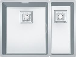 FRANKE - Centinox Nerezový dřez CMX 160-34-17, 565x440 mm (122.0363.276)