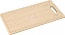 FRANKE - Příslušenství Přípravná deska KNG, 442x230x20 mm, exotické dřevo (112.0511.888)