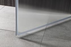 AQUALINE - PILOT otočné sprchové dveře 800mm+vanička (PT080-SET1), fotografie 2/10