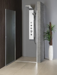 AQUALINE - PILOT otočné sprchové dveře 800mm+vanička (PT080-SET1), fotografie 12/10