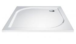 AQUALINE - PILOT otočné sprchové dveře dvojkřídlé 900mm+vanička (PT092-SET1), fotografie 18/10