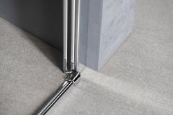 AQUALINE - PILOT otočné sprchové dveře 800mm+žlab (PT080-SET2), fotografie 16/11