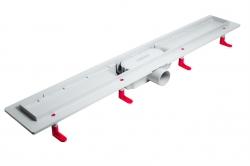 AQUALINE - PILOT otočné sprchové dveře dvojkřídlé 1000mm+žlab (PT102-SET2), fotografie 2/12