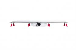 AQUALINE - PILOT otočné sprchové dveře dvojkřídlé 1000mm+žlab (PT102-SET2), fotografie 6/12