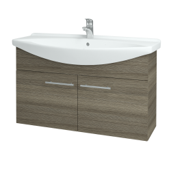 Dřevojas - Koupelnová skříň TAKE IT SZD2 105 - D03 Cafe / Úchytka T02 / D03 Cafe (133467B)