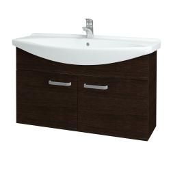 Dřevojas - Koupelnová skříň TAKE IT SZD2 105 - D08 Wenge / Úchytka T01 / D08 Wenge (133504A)