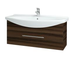 Dřevojas - Koupelnová skříň TAKE IT SZZ 105 - D06 Ořech / Úchytka T02 / D06 Ořech (134150B)