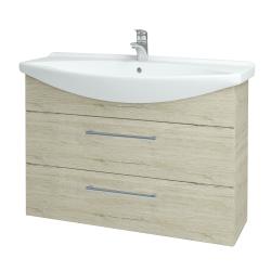 Dřevojas - Koupelnová skříň TAKE IT SZZ2 105 - D05 Oregon / Úchytka T03 / D05 Oregon (134211C)
