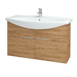 Dřevojas - Koupelnová skříň TAKE IT SZD2 105 - D09 Arlington / Úchytka T02 / D09 Arlington (151195B)