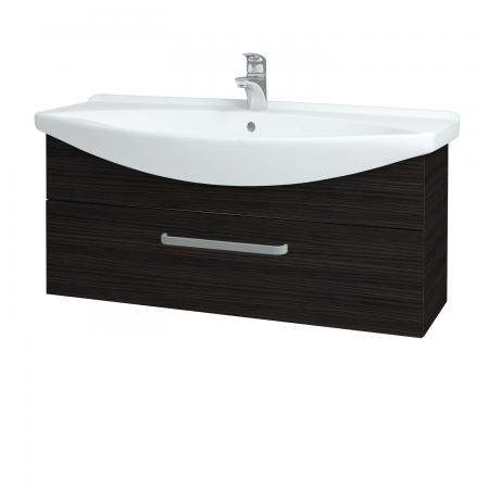 Dřevojas - Koupelnová skříň TAKE IT SZZ 105 - D14 Basalt / Úchytka T01 / D14 Basalt (151300A)