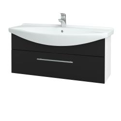 Dřevojas - Koupelnová skříň TAKE IT SZZ 105 - N01 Bílá lesk / Úchytka T02 / N08 Cosmo (207236B)