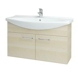 Dřevojas - Koupelnová skříň TAKE IT SZD2 105 - D02 Bříza / Úchytka T04 / D02 Bříza (133450E)