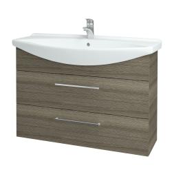 Dřevojas - Koupelnová skříň TAKE IT SZZ2 105 - D03 Cafe / Úchytka T04 / D03 Cafe (134198E)