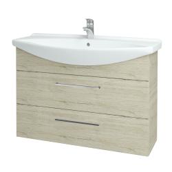 Dřevojas - Koupelnová skříň TAKE IT SZZ2 105 - D05 Oregon / Úchytka T04 / D05 Oregon (134211E)