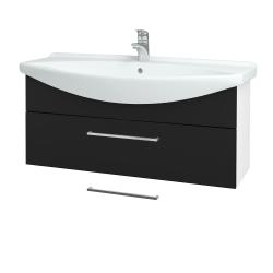 Dřevojas - Koupelnová skříň TAKE IT SZZ 105 - N01 Bílá lesk / Úchytka T04 / N08 Cosmo (207236E)