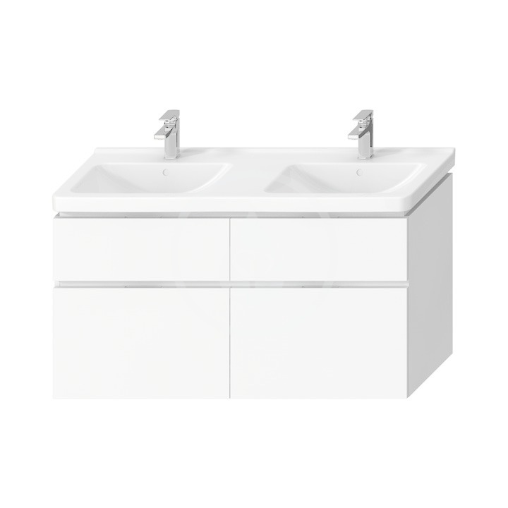 JIKA Cubito Pure Skříňka pod dvojumyvadlo 1280x683 mm, bílá H40J4274025001
