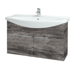 Dřevojas - Koupelnová skříň TAKE IT SZD2 105 - D10 Borovice Jackson / Úchytka T02 / D10 Borovice Jackson (206321B)