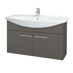 Dřevojas - Koupelnová skříň TAKE IT SZD2 105 - N06 Lava / Úchytka T02 / N06 Lava (206451B)