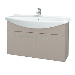 Dřevojas - Koupelnová skříň TAKE IT SZD2 105 - N07 Stone / Úchytka T02 / N07 Stone (206468B)