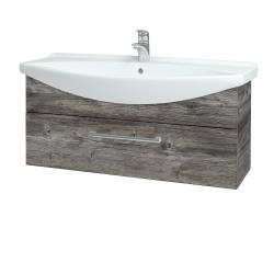 Dřevojas - Koupelnová skříň TAKE IT SZZ 105 - D10 Borovice Jackson / Úchytka T03 / D10 Borovice Jackson (207120C)