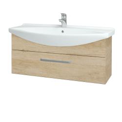 Dřevojas - Koupelnová skříň TAKE IT SZZ 105 - D15 Nebraska / Úchytka T01 / D15 Nebraska (207137A)