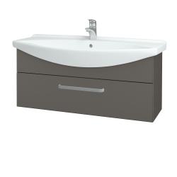 Dřevojas - Koupelnová skříň TAKE IT SZZ 105 - N06 Lava / Úchytka T01 / N06 Lava (207250A)