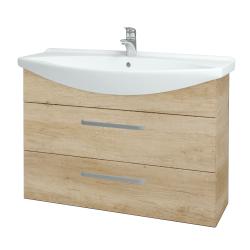 Dřevojas - Koupelnová skříň TAKE IT SZZ2 105 - D15 Nebraska / Úchytka T01 / D15 Nebraska (207939A)