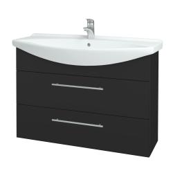 Dřevojas - Koupelnová skříň TAKE IT SZZ2 105 - N03 Graphite / Úchytka T02 / N03 Graphite (208042B)
