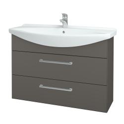 Dřevojas - Koupelnová skříň TAKE IT SZZ2 105 - N06 Lava / Úchytka T03 / N06 Lava (208059C)