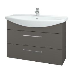 Dřevojas - Koupelnová skříň TAKE IT SZZ2 105 - N06 Lava / Úchytka T04 / N06 Lava (208059E)