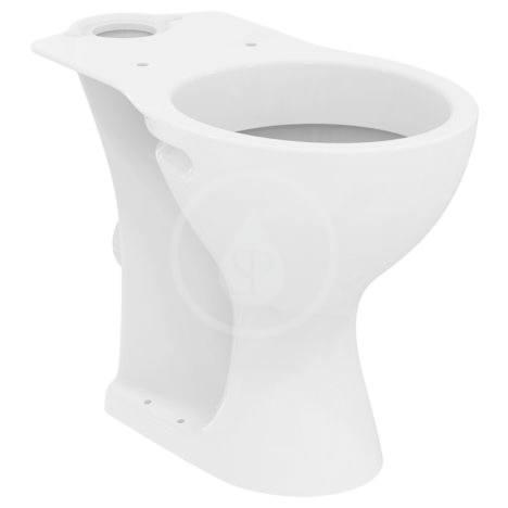 IDEAL STANDARD Contour 21 WC kombi mísa, bezbariérová, 360x450x660 mm, zadní odpad, bílá E883201