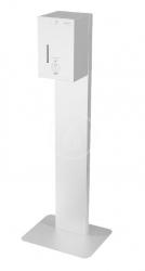 SANELA - Nerezové dávkovače Automatický stojící dávkovač dezinfekce, objem 5 l, síťové napájení, matná nerez (SLZN 59ES)