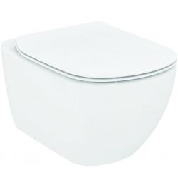 IDEAL STANDARD - Tesi Závěsné WC se sedátkem SoftClose, AquaBlade, bílá (T354601)