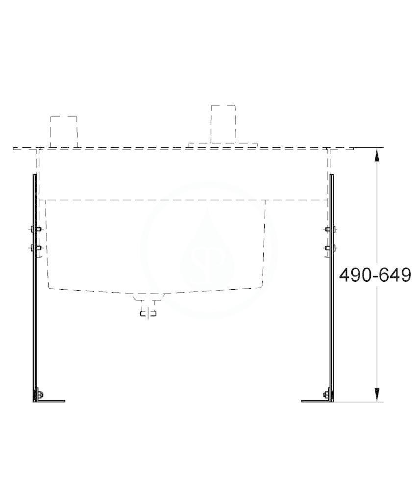 GROHE - Příslušenství Nosné profily (45388000)