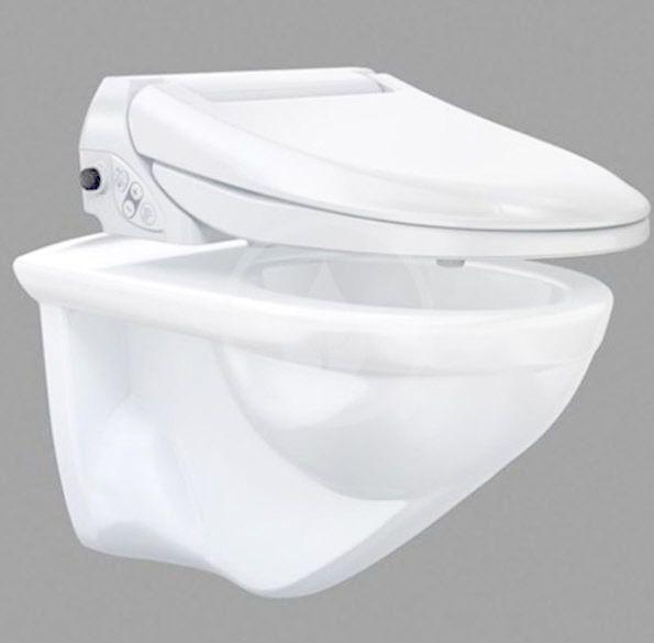 GEBERIT - AquaClean Bidetové sedátko 4000, SoftClosing, alpská bílá (146.130.11.2)