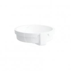 Laufen - Living Vestavné umyvadlo, 400 x 400 mm, bílá - bez otvoru pro baterii (H8134380001091)