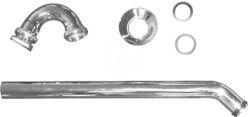 """DURAVIT - Příslušenství Bidetový trubkový sifon 1 1/4"""" (0050270000)"""