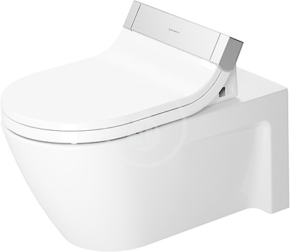 DURAVIT - Starck 2 Závěsné WC pro bidetové sedátko SensoWash, s WonderGliss, alpská bílá (25335900001)