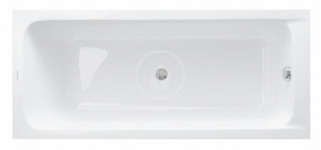 DURAVIT - D-Code Vana 1700x700 mm, alpská bílá (700097000000000)