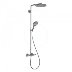 HANSGROHE - Raindance Select S Sprchový set Showerpipe s termostatem, 1jet, matná černá (27633670)