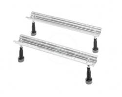 DURAVIT - Příslušenství Podstavné nožičky pro vany a sprchové vaničky, pro délku nad 1000 mm (790100000000000)